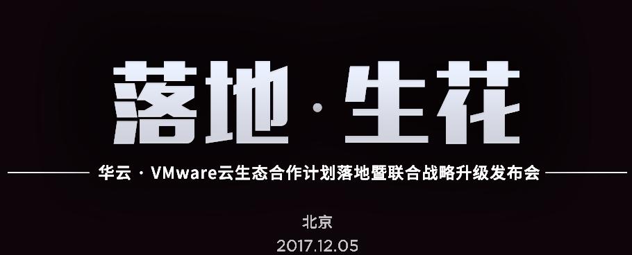 落地·生花 华云VMware混合云服务落地暨联合战略升级发布会