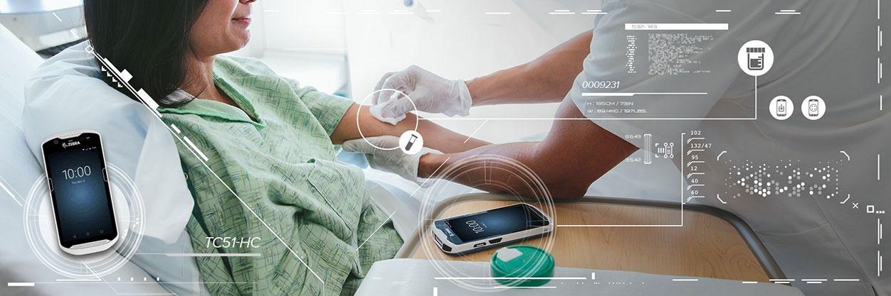 """移动医疗掌中""""大白"""" 斑马技术让智慧医疗就在身边"""