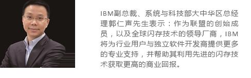 IBM副总裁、系统与科技部大中华区总经理郭仁声先生